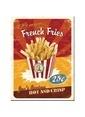 Nostalgic Art French Fries Magnet 6x8 cm Renkli